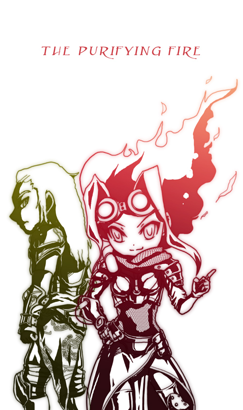 MTG FA:The Purifying Fire by tomo-sanagi