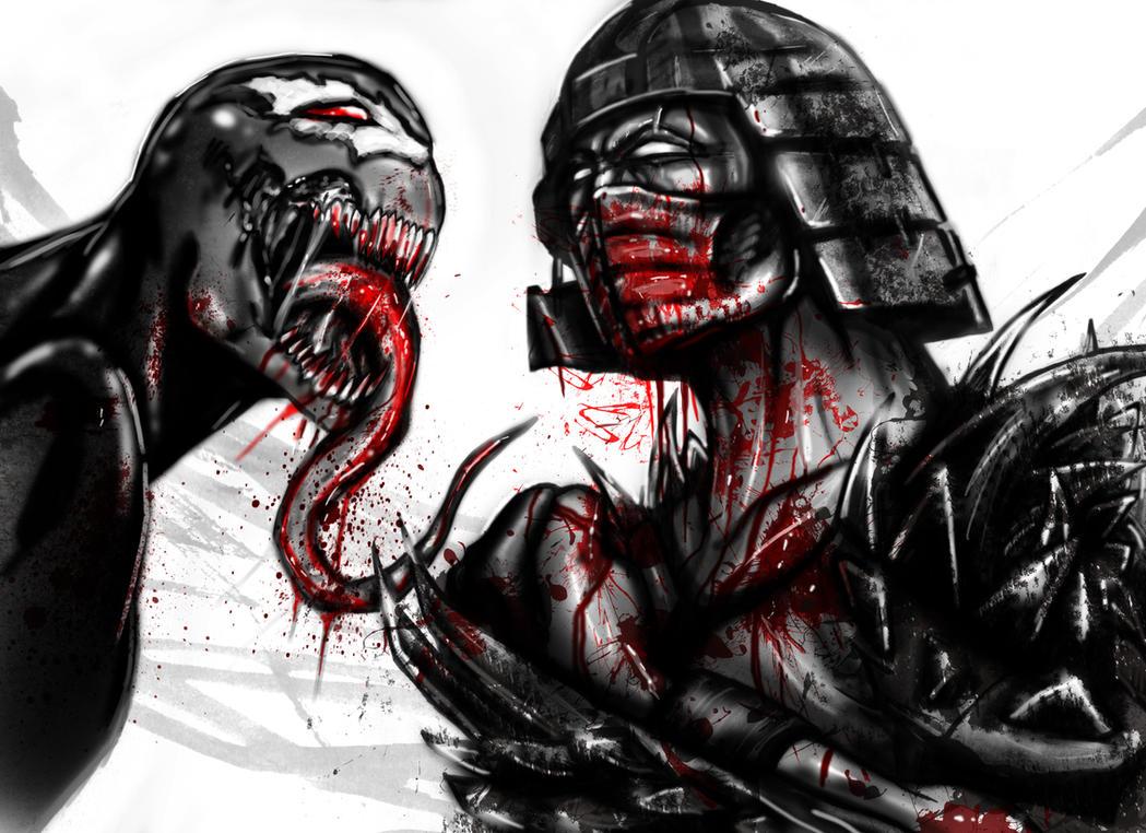 Humor - Page 5 Shredder_vs_venom_by_suspension99-d3jd4rh