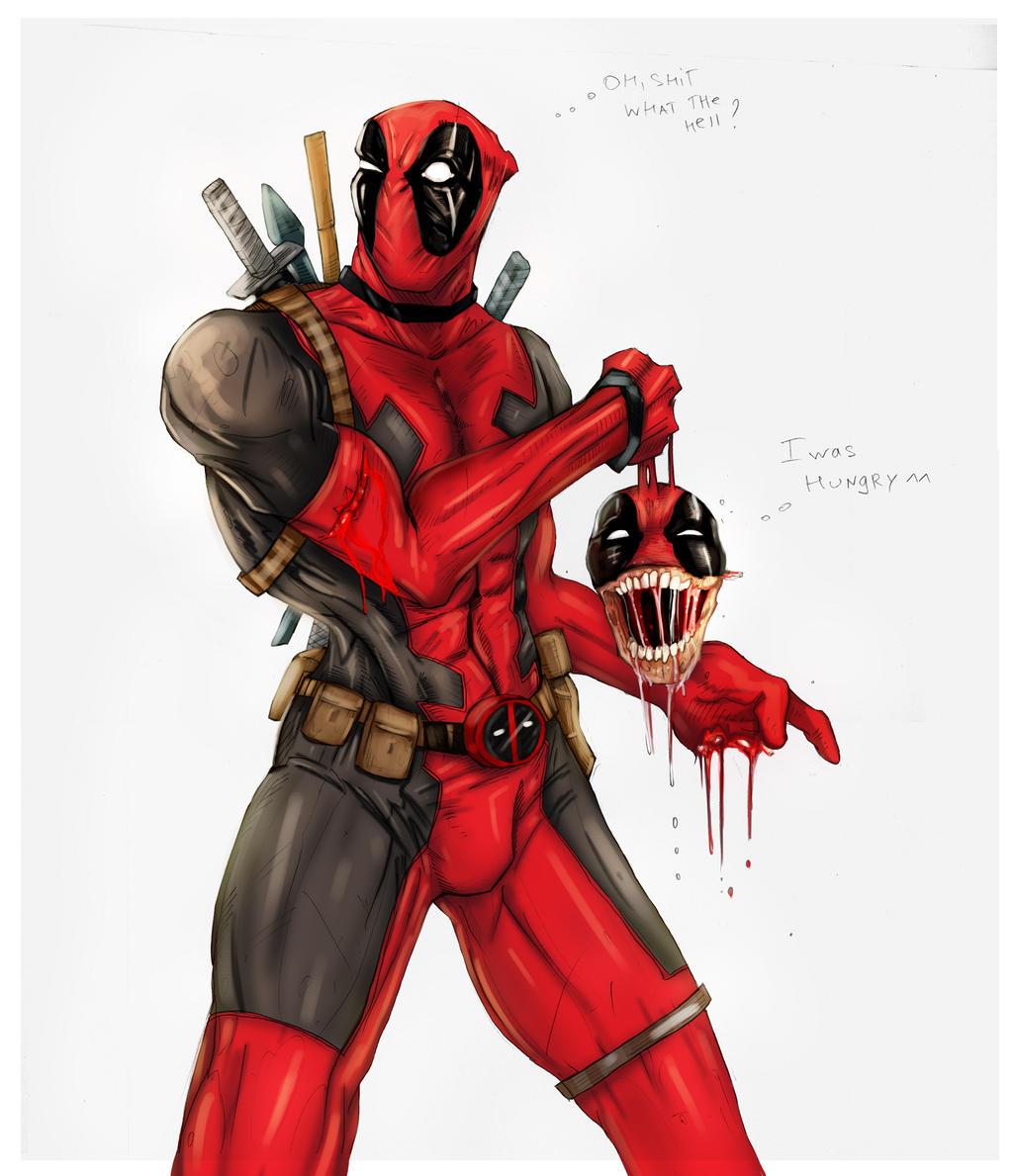 Deadpool and headpool by suspension99 on deviantart for Headpool