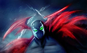 SPAWN WALLPAPER by suspension99