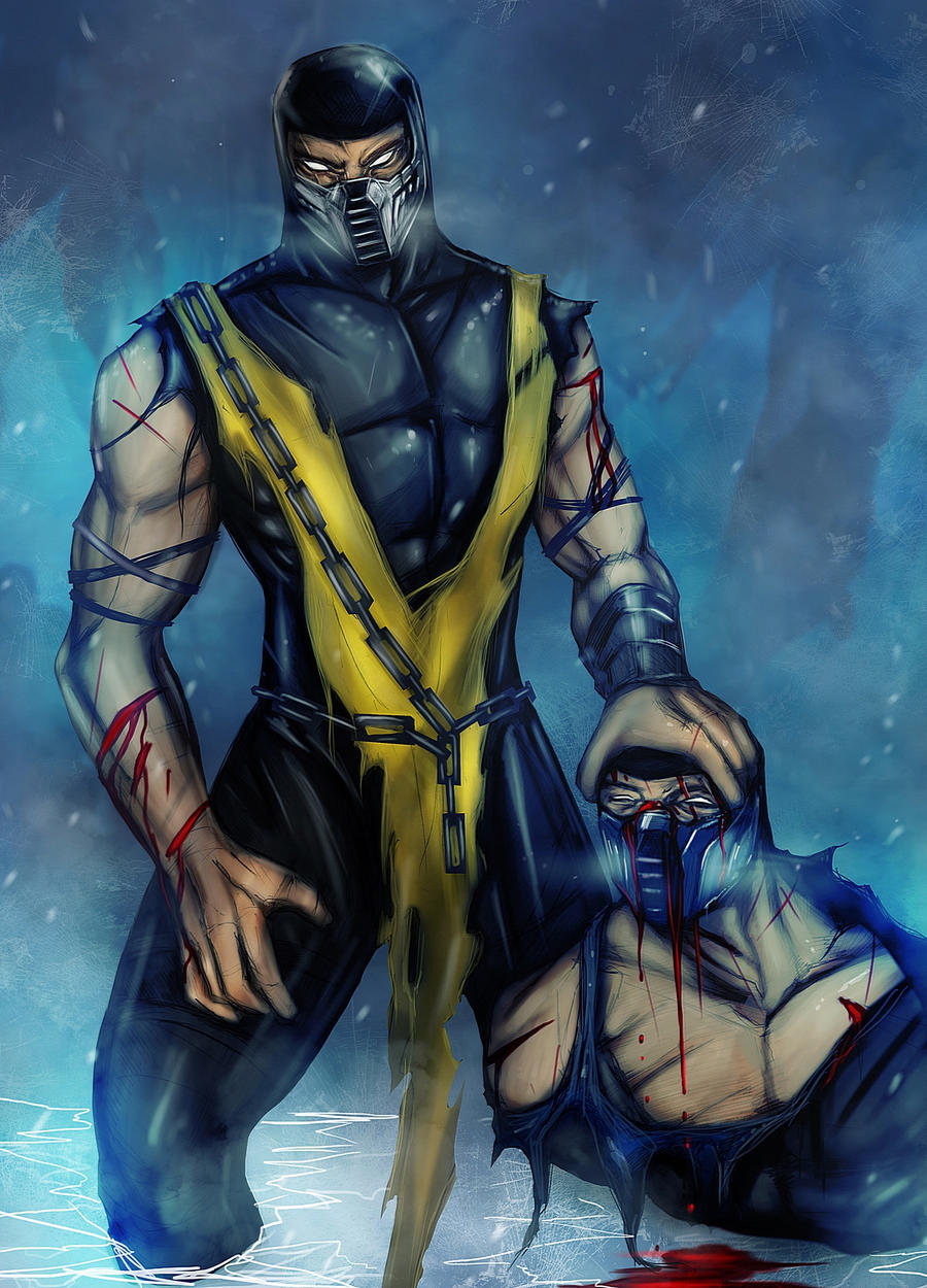 Pictures of Mortal Kombat Scorpion Vs Sub Zero Vs Reptile