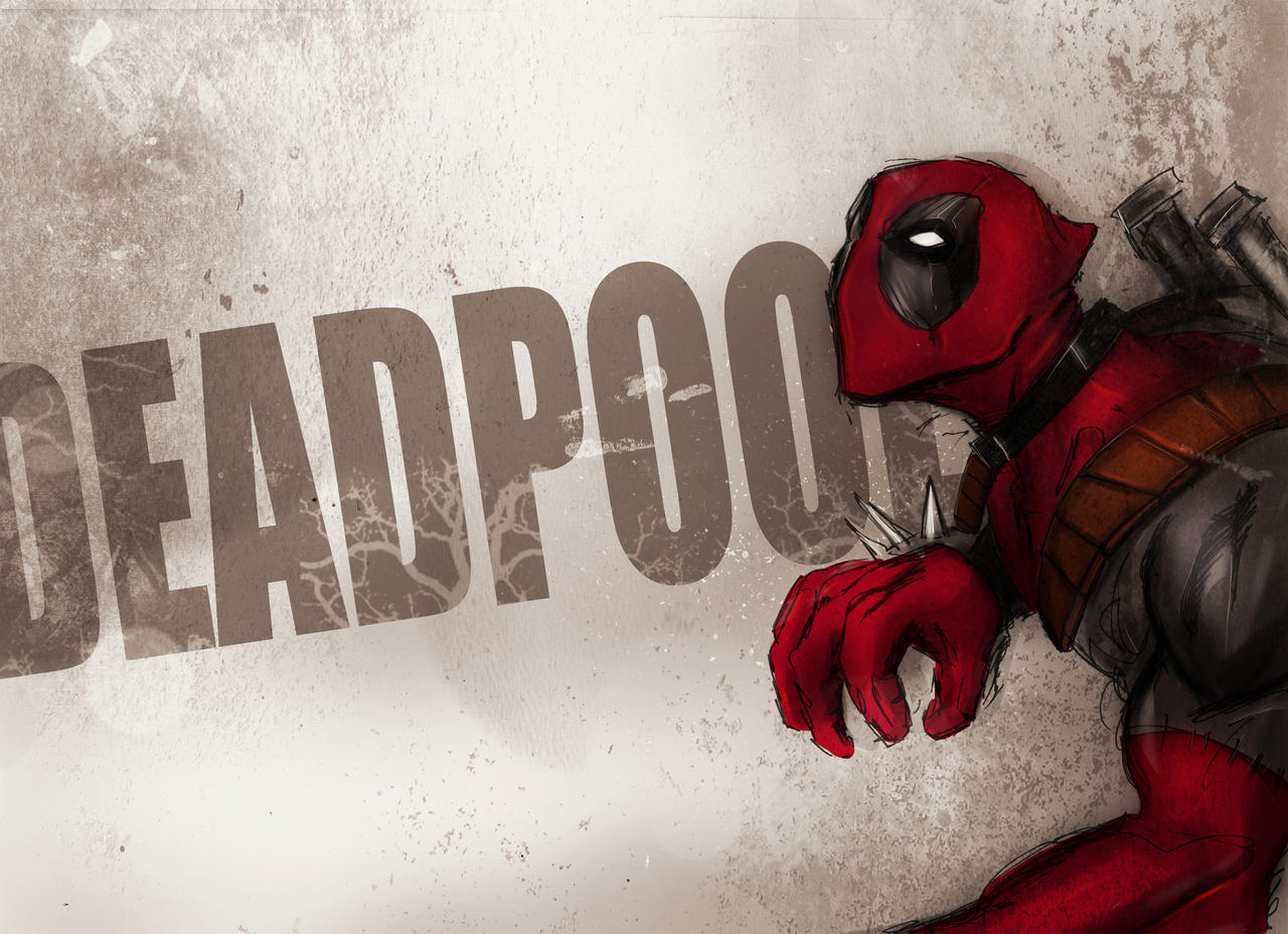 deadpool wallpaper by suspension99