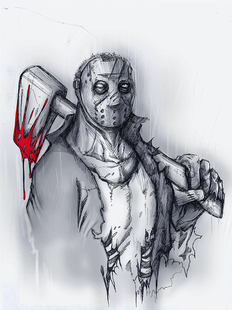 jason voorhees friday the 13th by suspension99 Jason Friday The 13th Drawings