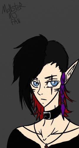 Kazuki (MJRoxMyRhinestoneSox's Request) by MonsterMJFan