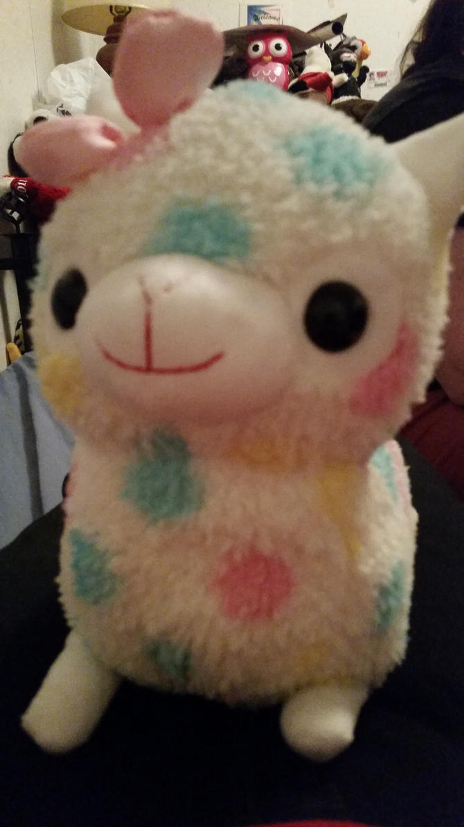Cute Cuddly Alpaca by MonsterMJFan