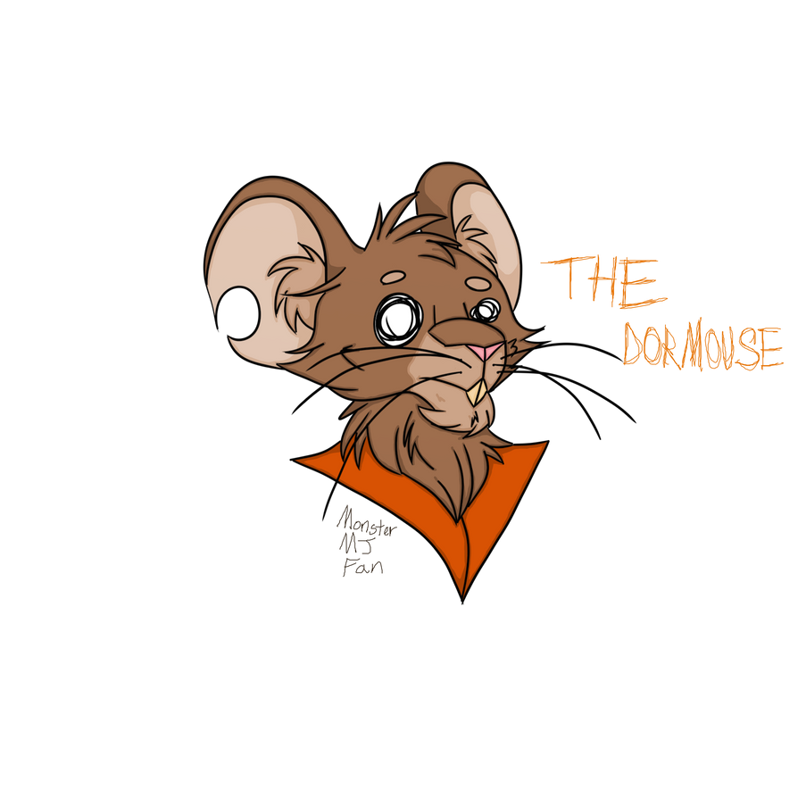 The Dormouse by MonsterMJFan