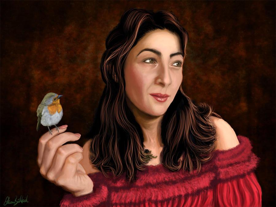The Portrait of my Love by ArtofOkan