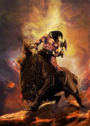 Conan the Barbarian by ArtofOkan