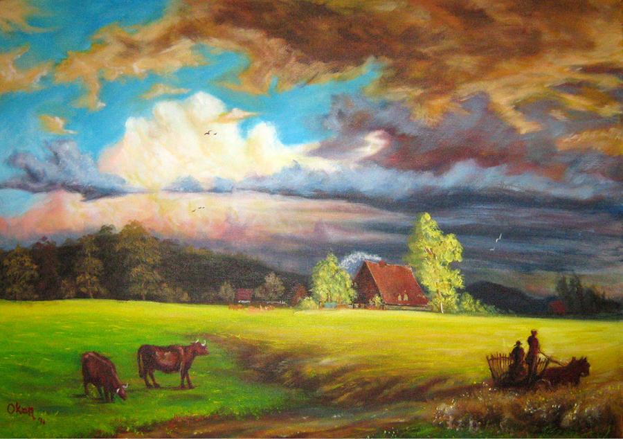 Landscape study03 by ArtofOkan