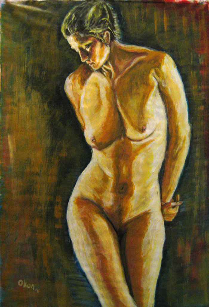 Nude Study-02 by ArtofOkan