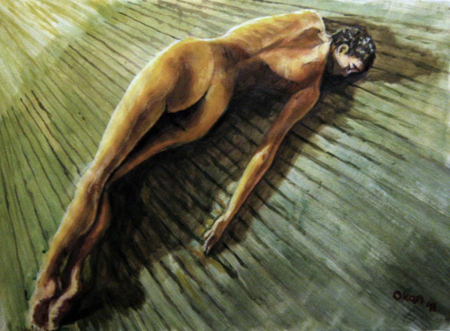 Nude Study-03 by ArtofOkan