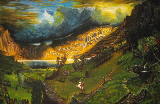 'Storm In the Rocky Mountains'