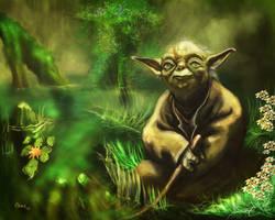 Yoda by ArtofOkan