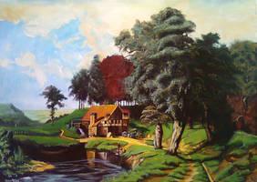 'A Rustic Mill' by ArtofOkan