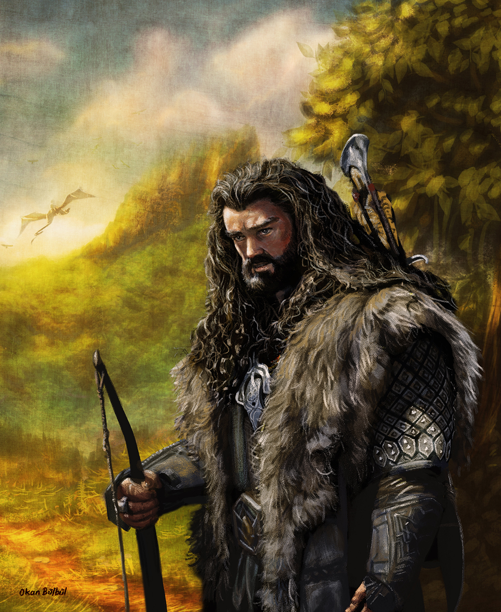 Thorin Oakenshield by ArtofOkan