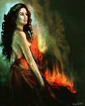 Flame by ArtofOkan