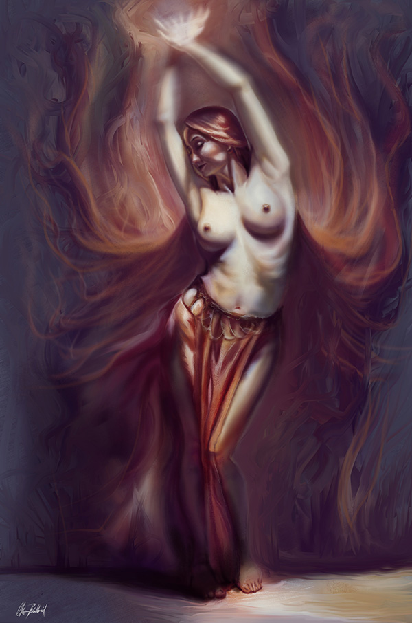 Dancer by ArtofOkan