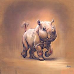 Mini Rhino by ArtofOkan
