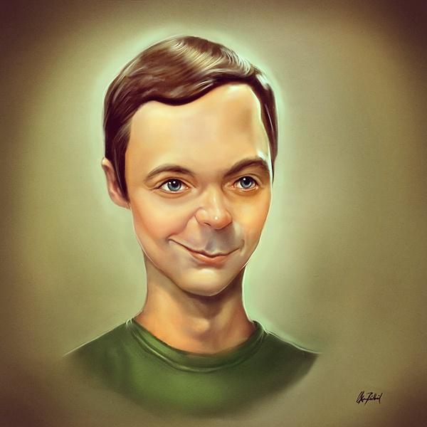 Sheldon Cooper by ArtofOkan