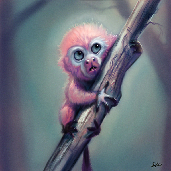 Pinkmonkey by ArtofOkan