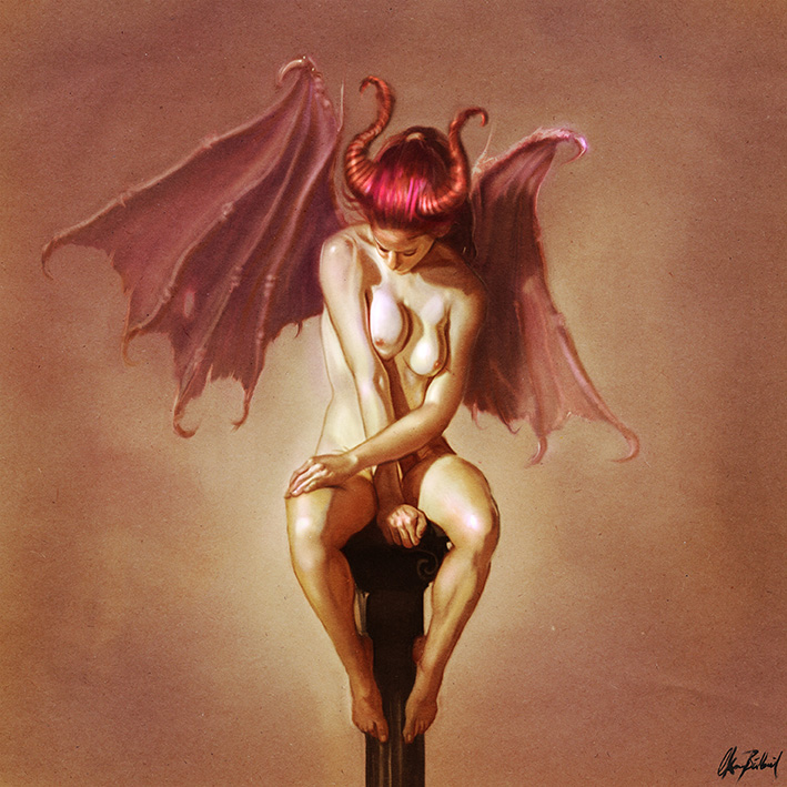 Demon Girl by ArtofOkan