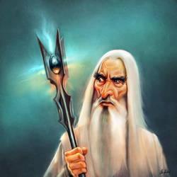 Saruman by ArtofOkan