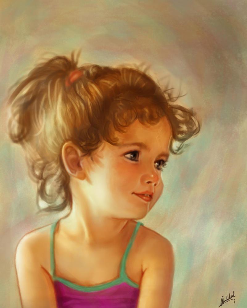 Arven, my daughter by ArtofOkan