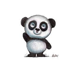 Panda says hi!