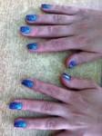 Nail design degraded