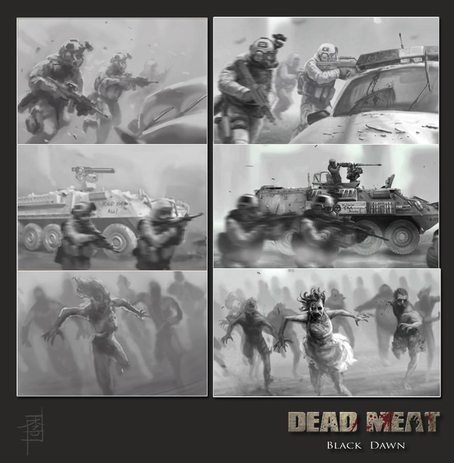 Dead Meat - Black Dawn I by MarcWasHere