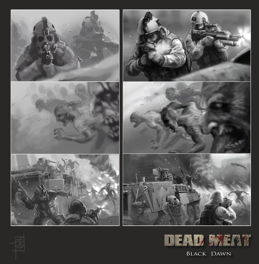 Dead Meat - Black Dawn II by MarcWasHere