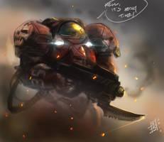 Sean's Marine by MarcWasHere