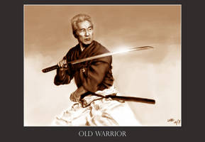 Old Warrior by MarcWasHere