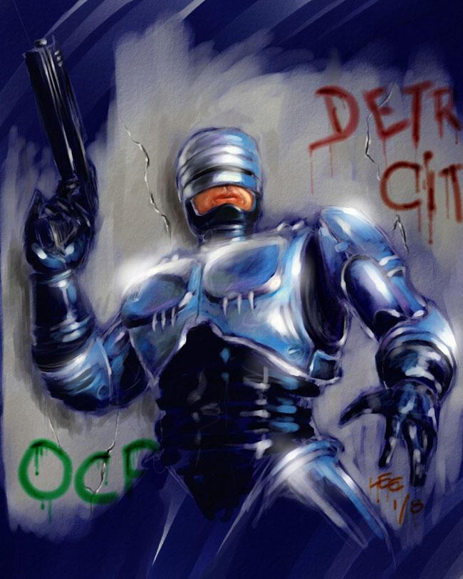 Robocop by MarcWasHere on DeviantArt