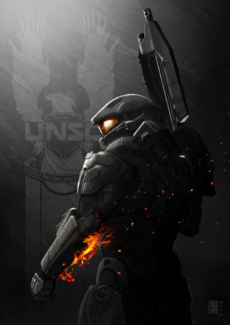 HALO 4 x Battlefield by MarcWasHere