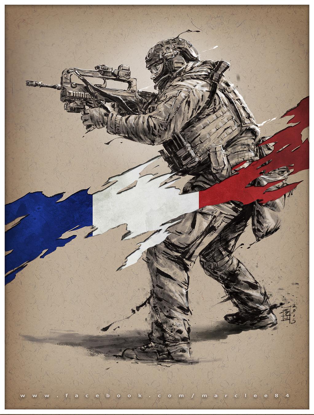 Vive la France by MarcWasHere