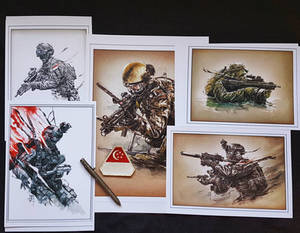 171028 - Singapore Armed Forces themed prints