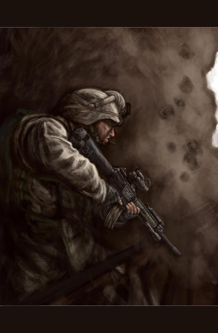 Marine by MarcWasHere