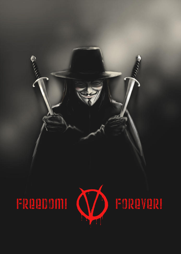 V for Vendetta by MarcWasHere