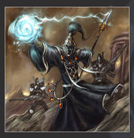 Eldar - Warlock n Guardians by MarcWasHere