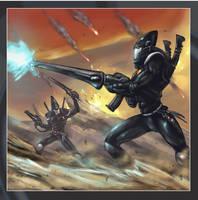 Eldar - Guardians by MarcWasHere