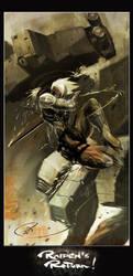 MGS - 4 Raiden Returns by MarcWasHere