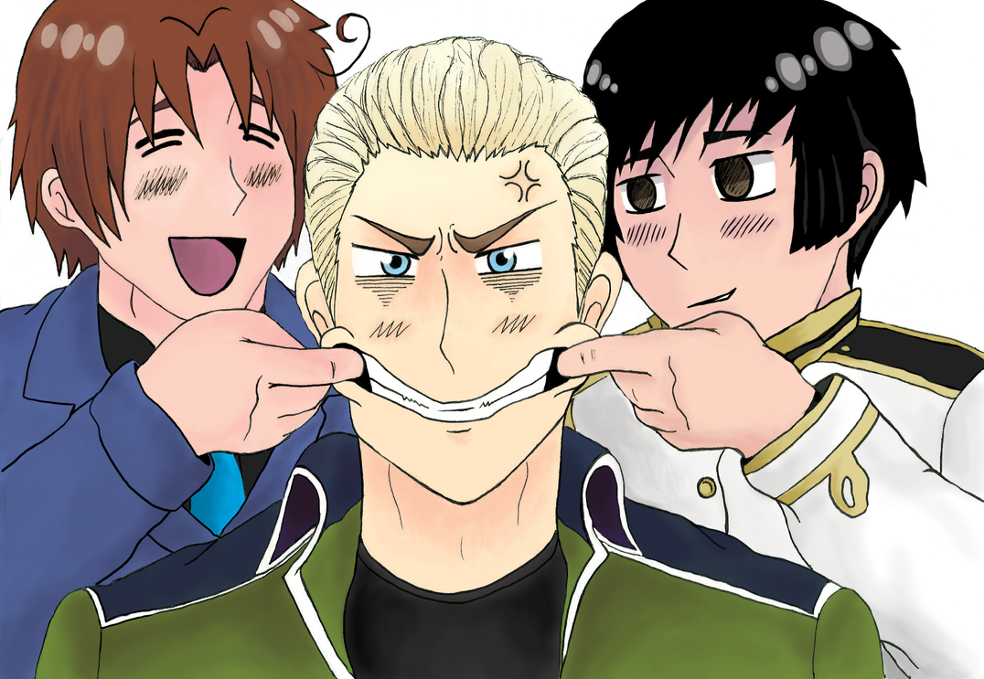 Germany! Germany! Smile Germany! by CarnageWolff