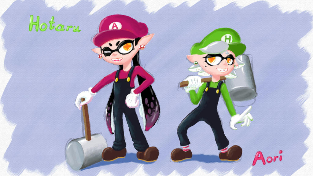 Super Squid Sisters by OsakaOji
