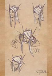 Belf Sketches by pierdrago