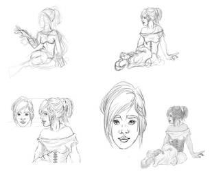 how i draw 'rantantan' by maren-B