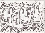 HAUAL graffiti