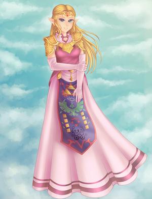 Commission: Zelda Princess by An-Juu