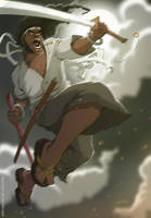 Afro Samurai By Ifes! by ifesinachi