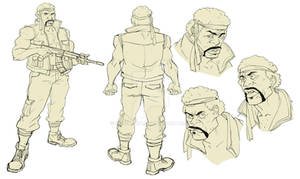 Soldier Character Design